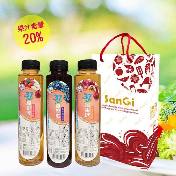 預購《老爸ㄟ廚房》37纖果飲禮盒(500ml/2瓶/盒)(藍莓)