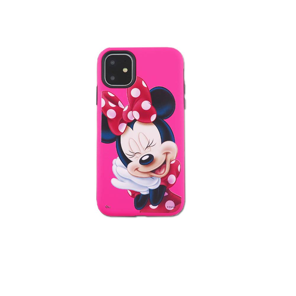 Disney迪士尼iPhone11系列磨砂雙料殼_米妮