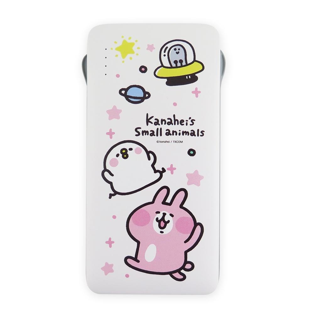 Kanahei卡娜赫拉小動物系列自帶線行動電源_飛碟
