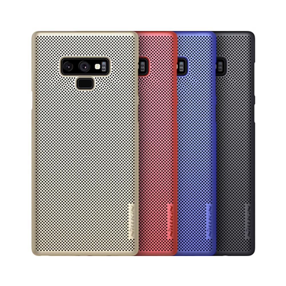 NILLKIN SAMSUNG Galaxy Note 9 立透散熱手機殼(藍色)