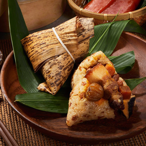 預購《貞榮小館》海金沙烏魚子爌肉粽6顆(200g/顆 共6顆)