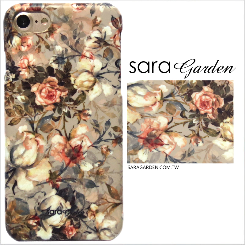 【Sara Garden】客製化 手機殼 Samsung 三星 Note10+ Note10Plus 玫瑰花叢 手工 保護殼 硬殼