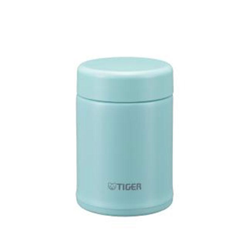 TIGER虎牌 百變Fun不銹鋼食物罐(MCA-B025粉藍)