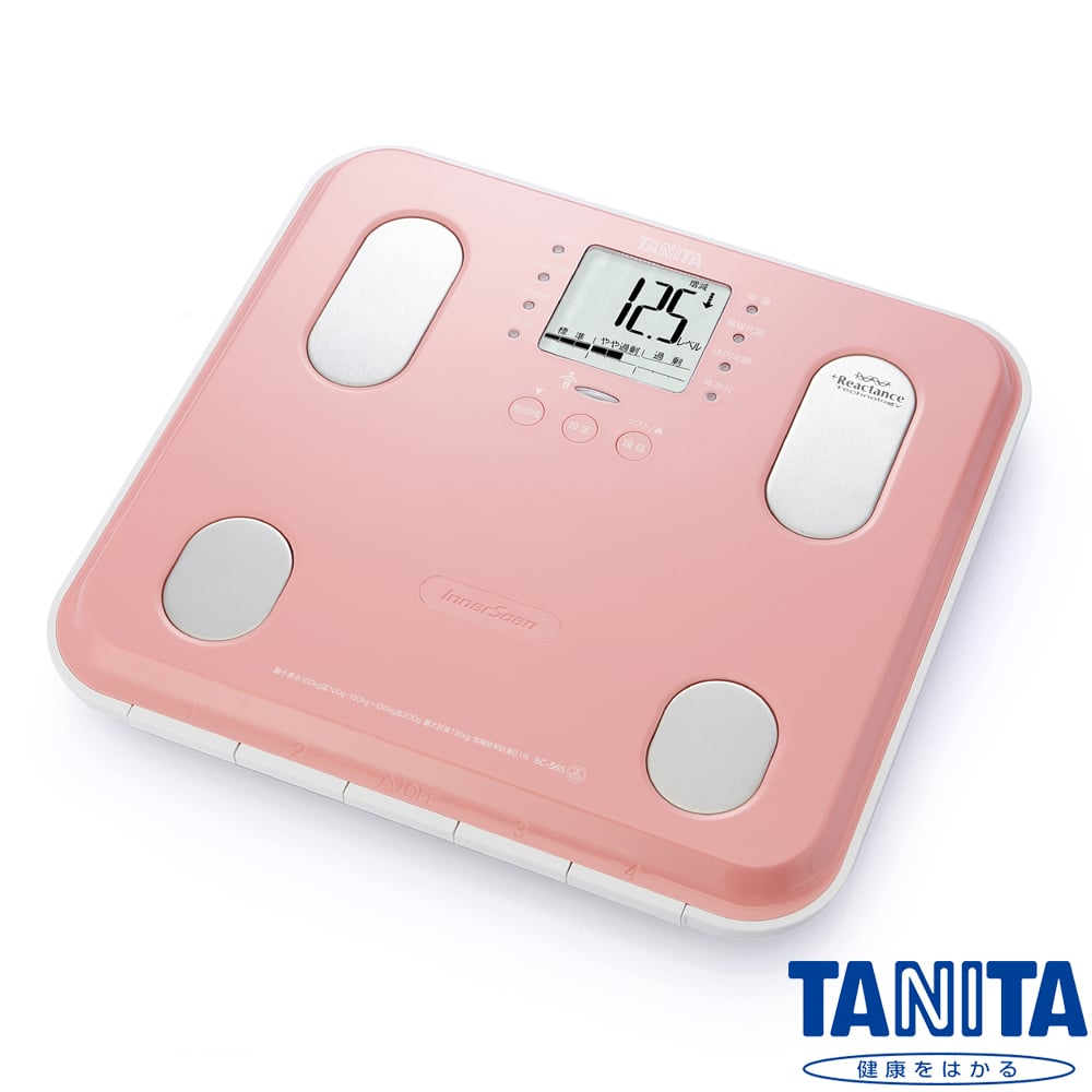 【日本TANITA】九合一體組成計BC565(鏡面櫻粉)