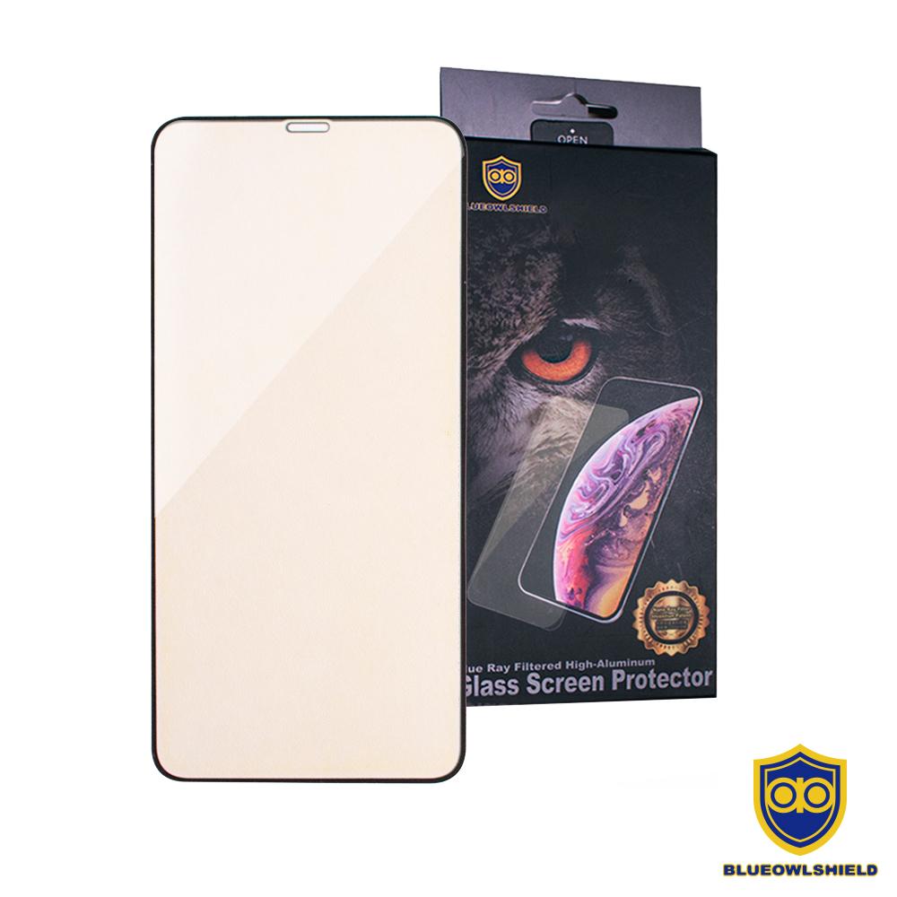 藍鷹盾 iPhone 11 Pro / iPhone Xs / iPhone X 黑邊滿版 濾藍光玻璃保護貼