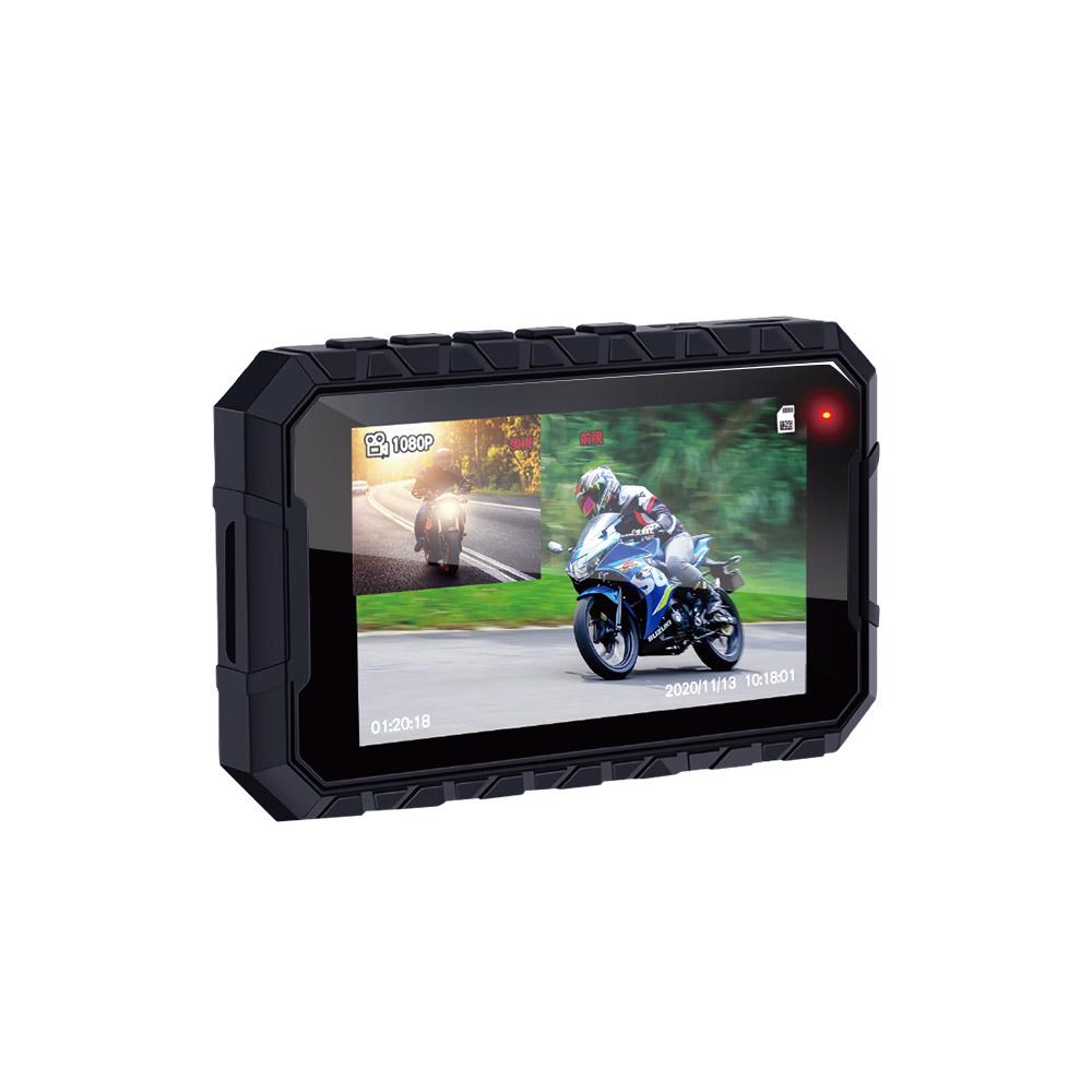 含安裝【鷹之眼】GPS機車前後雙鏡行車紀錄器-送32卡 (機車行車記錄器 重機行車紀錄器 雙鏡頭)