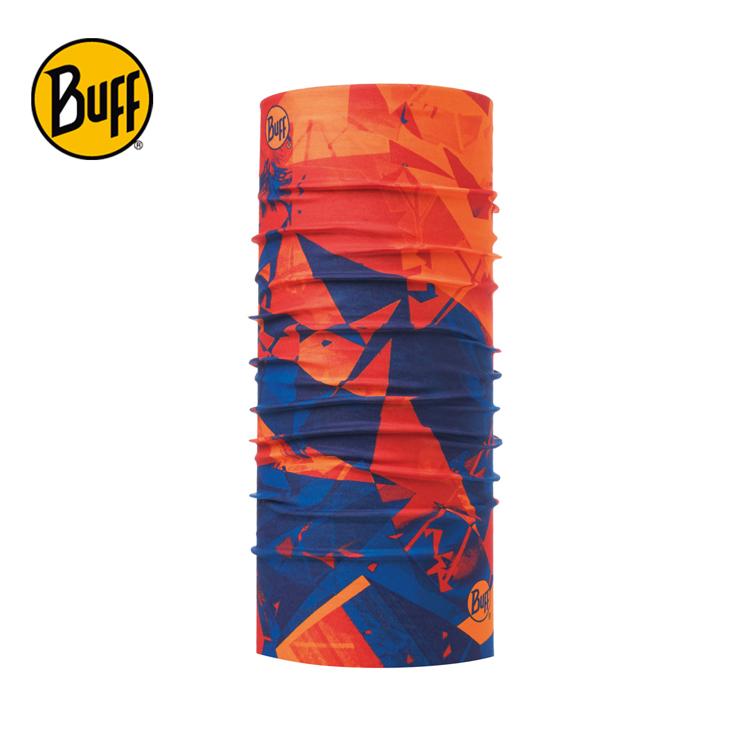 【西班牙 BUFF】橘光藍影 經典頭巾