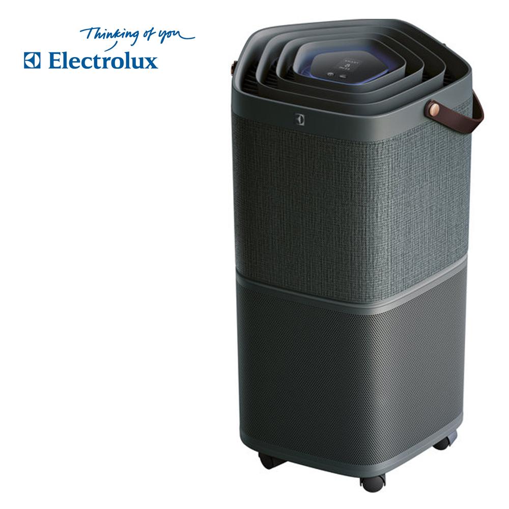 【Electrolux 伊萊克斯】高效抗菌智能旗艦清淨機Pure A9(PA91-406DG沈穩黑-9-14坪)