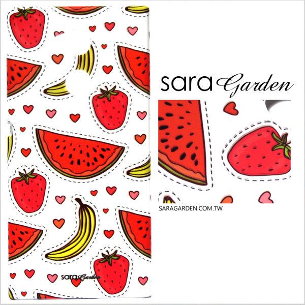 【Sara Garden】客製化 手機殼 SONY XA2 保護殼 硬殼 可愛手繪水果