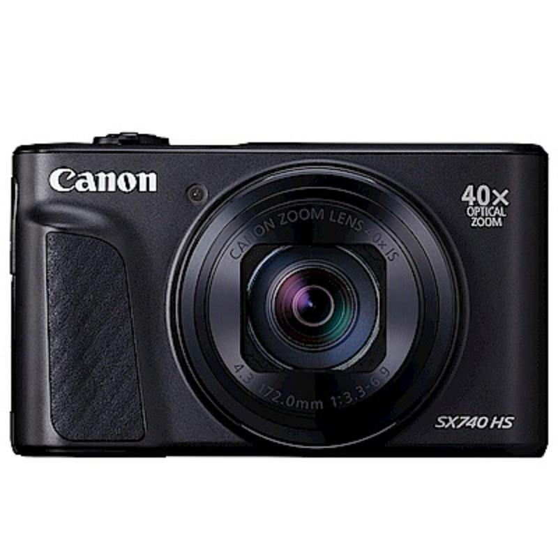 Canon PowerShot SX740 黑 (原廠公司貨) 送64G高速卡+專用電池+硬殼包+清潔組+螢幕保護貼+讀卡機+小腳架
