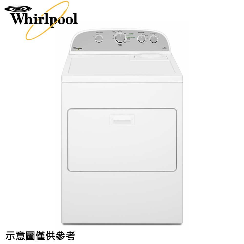 【Whirlpool惠而浦】12公斤極智瓦斯乾衣機WGD5000DW