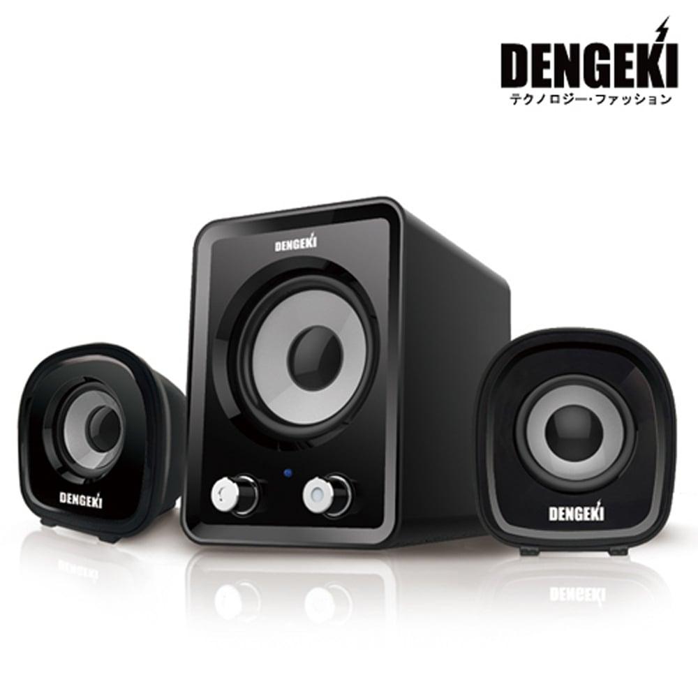 DENGEKI 2.1聲道USB多媒體喇叭 SK-827