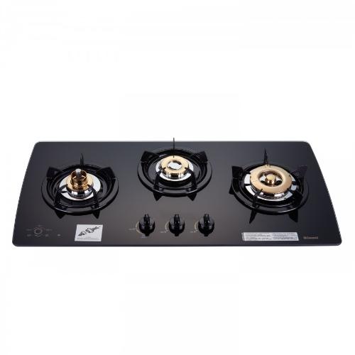 (全省安裝)林內美食家三口檯面爐黑色與白色瓦斯爐RB-3GMB