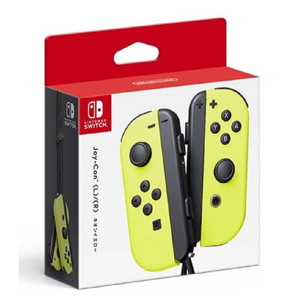 Nintendo Switch  Joy-Con 控制器 左右手套組 黃