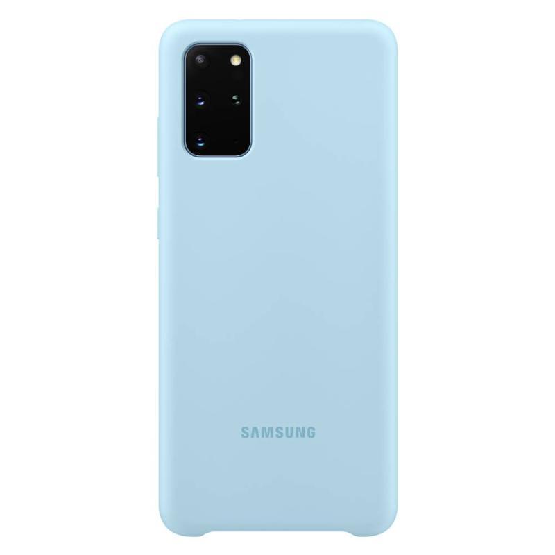 SAMSUNG Galaxy S20+ 5G薄型背蓋 矽膠材質 天空藍