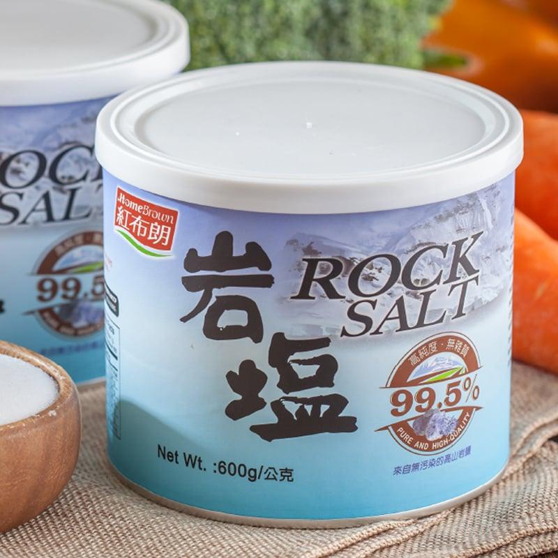 【紅布朗】岩鹽 600gX5罐