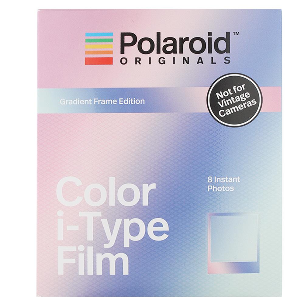 Polaroid Color Film for i-Type 彩色底片(漸層框)/2盒 4833