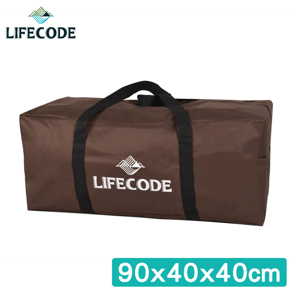 【LIFECODE】野營裝備袋90x40x40cm(XL號)-(咖啡色)