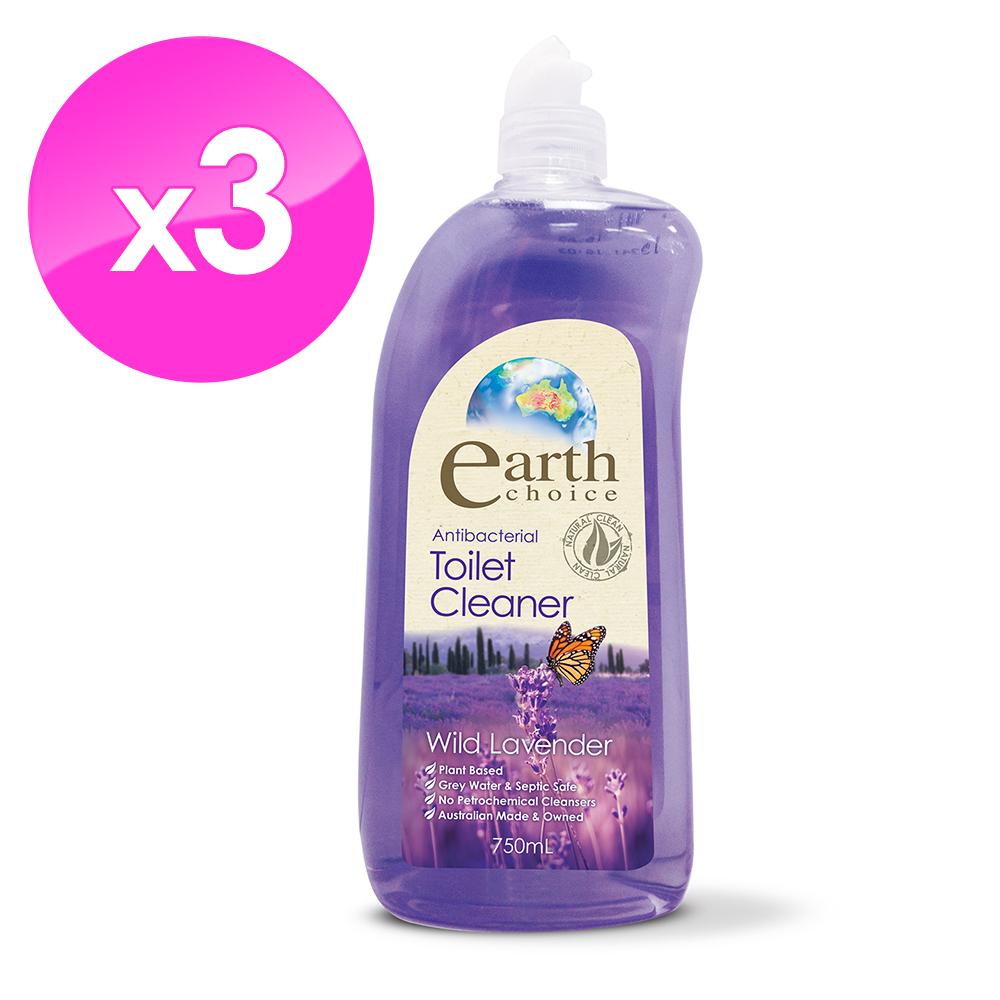 【澳洲Natures Organics】植粹浴廁清潔劑(薰衣花香)750mlx3入