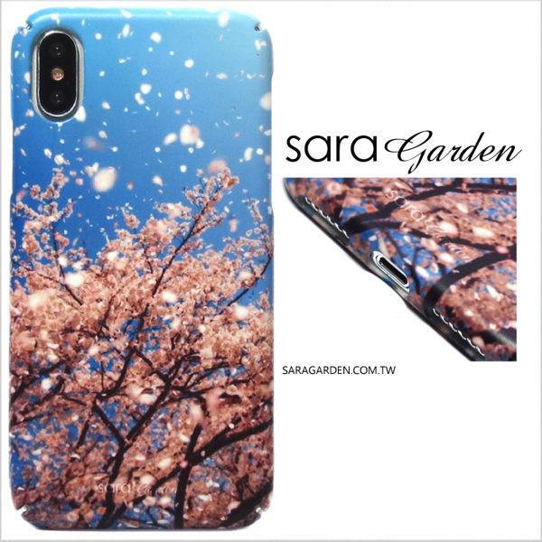【Sara Garden】客製化 全包覆 硬殼 蘋果 iPhone 6plus 6SPlus i6+ i6s+ 手機殼 保護殼 紛飛碎花櫻花