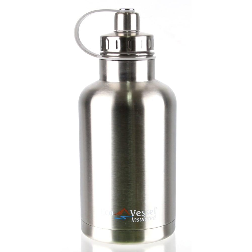 犀牛 RHINO  美國 Eco Vessel THE BOSS 不鏽鋼保溫水壺(1900cc)-炫銀