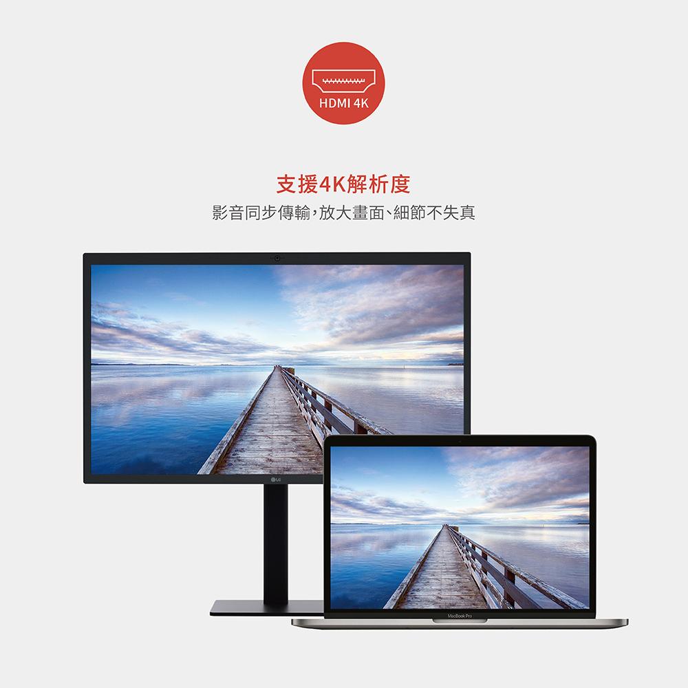 【Soodatek】type C TO HDMI轉接器/SCDH-AL4KSI