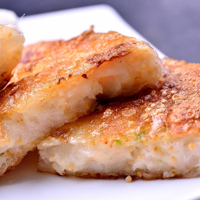 【鮮綠生活】團購熱銷!舞動風味飛魚卵花枝餅(3片裝) 共4包