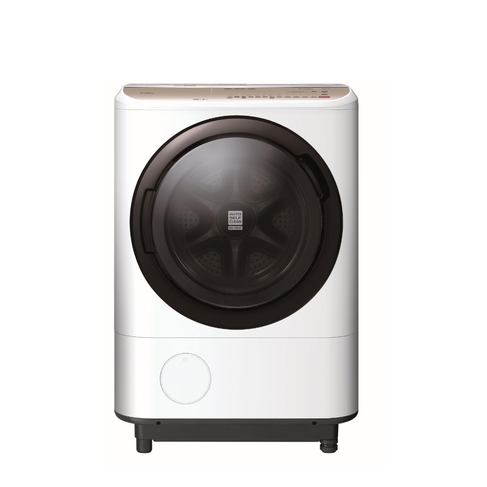 日立12.5公斤溫水滾筒(與BDNX125FH同款)洗衣機星燦白BDNV125FHW