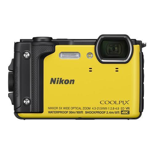 NIKON COOLPIX W300 - 黃色 送32G記憶卡+專用電池+專用座充+清潔組+螢幕貼+讀卡機+小腳架 公司貨