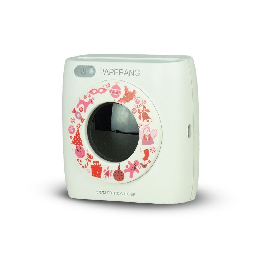 Paperang 二代P2 口袋列印小精靈-喵喵機+ 光圈環 -花樣年華