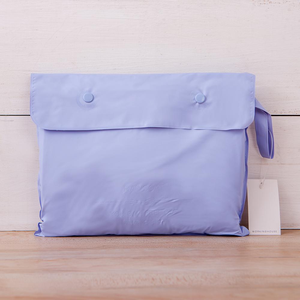風衣式雨衣-紫色-生活工場