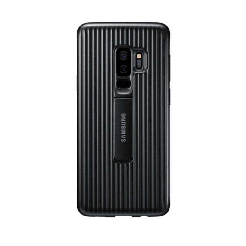 SAMSUNG Galaxy S9+立架式保護皮套 黑色