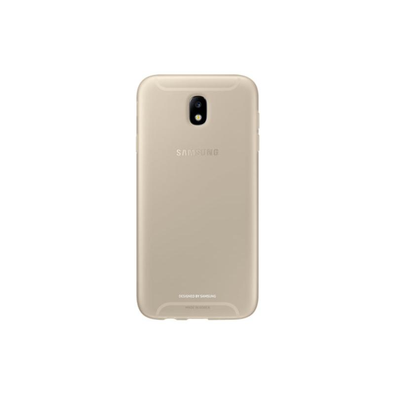 SAMSUNG Galaxy J7 Pro薄型透明背蓋TPU 金色