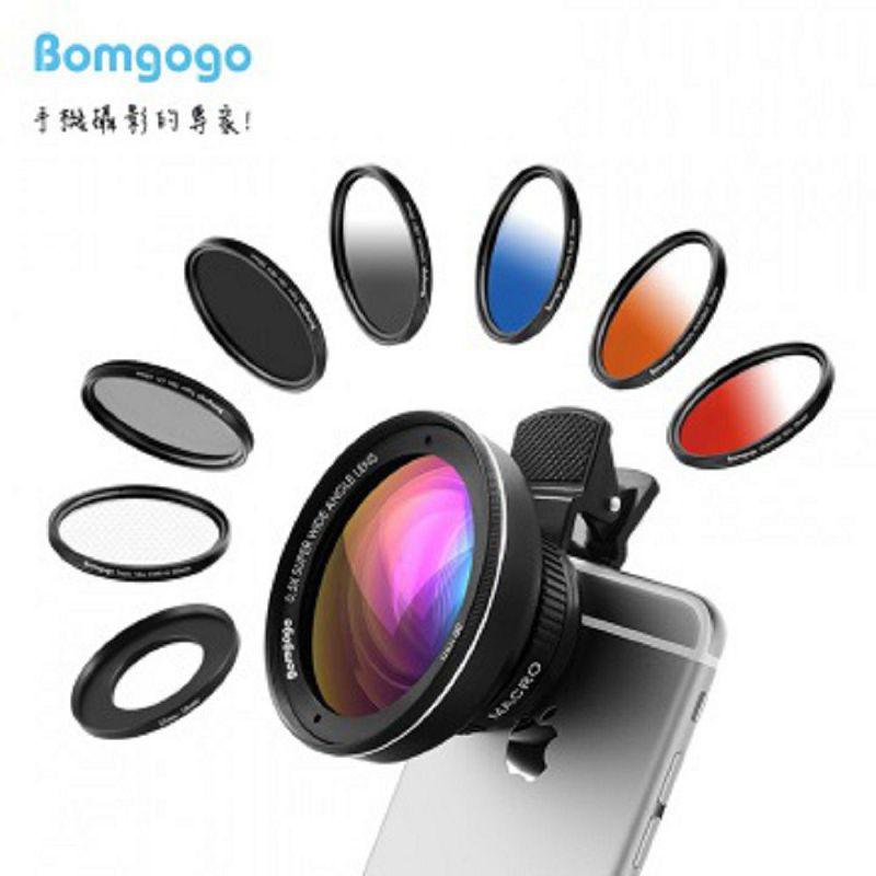 Bomgogo Govision L3 Combo 類單眼獨家設計-霸氣進化十合一58mm專業級手機鏡頭組