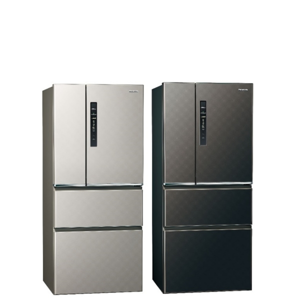 Panasonic國際牌610公升四門變頻鋼板冰箱絲紋黑NR-D610HV-V