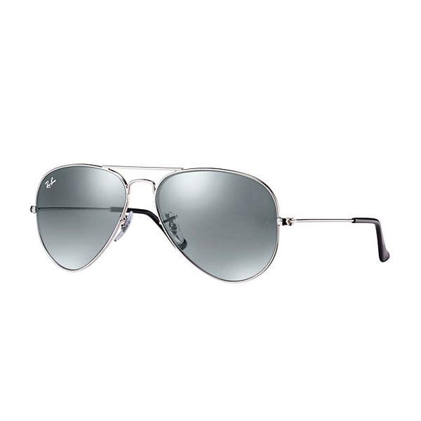 RayBan 時尚太陽眼鏡 (銀框/銀色鏡面)