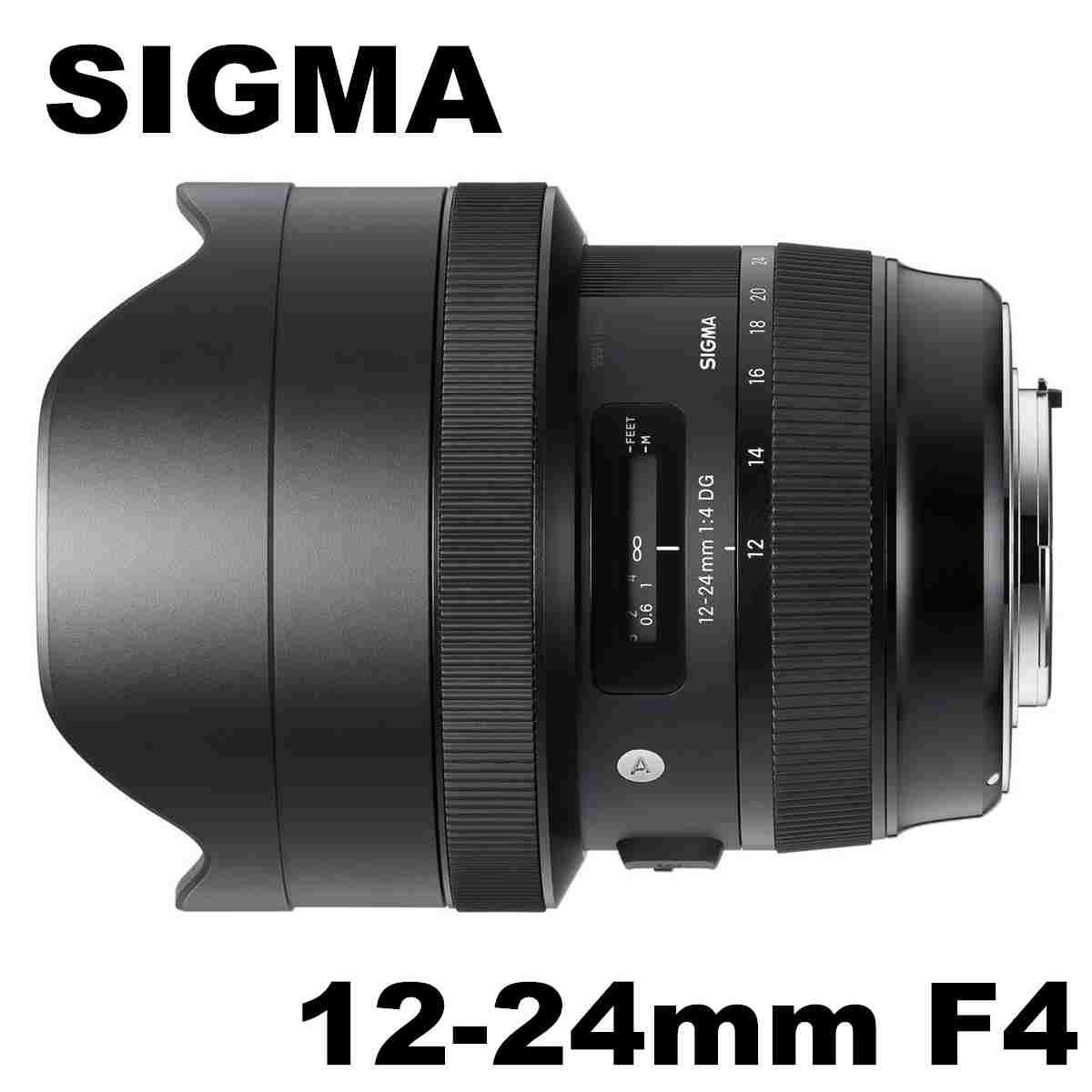 Sigma 12-24mm F4 ART 超廣角鏡頭 全幅/APSC適用 Nikon接環 公司貨 3年保固