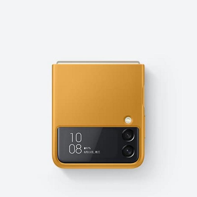 SAMSUNG Galaxy Z Flip3 5G 皮革背蓋