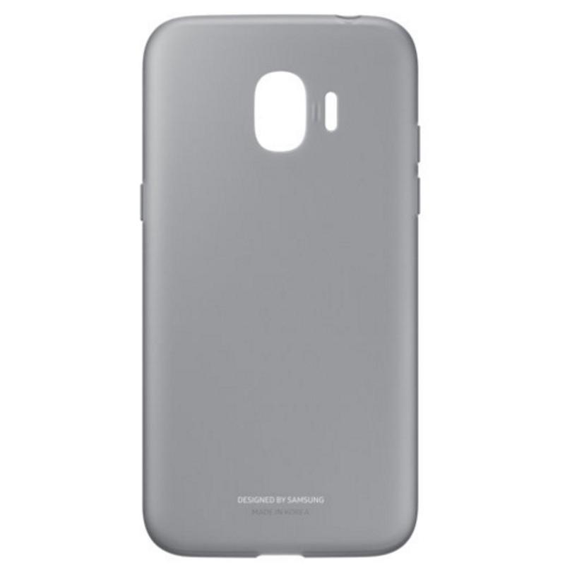SAMSUNG J2 Pro薄型透明背蓋-軟材質TPU 黑色