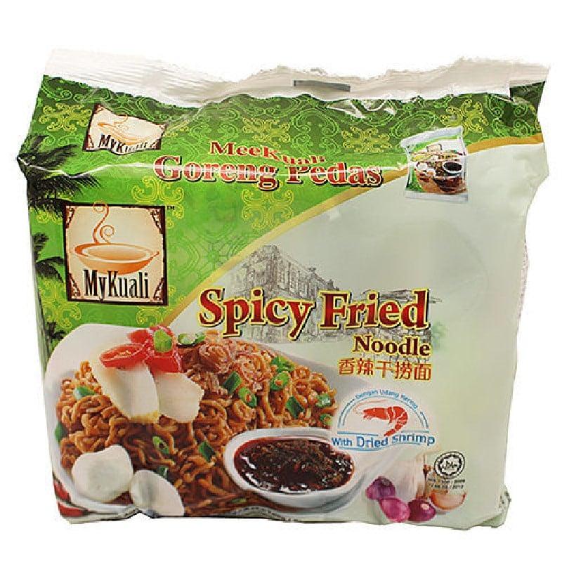 馬來西亞Mykuali檳城香辣乾撈麵100G(4包/袋)*4組