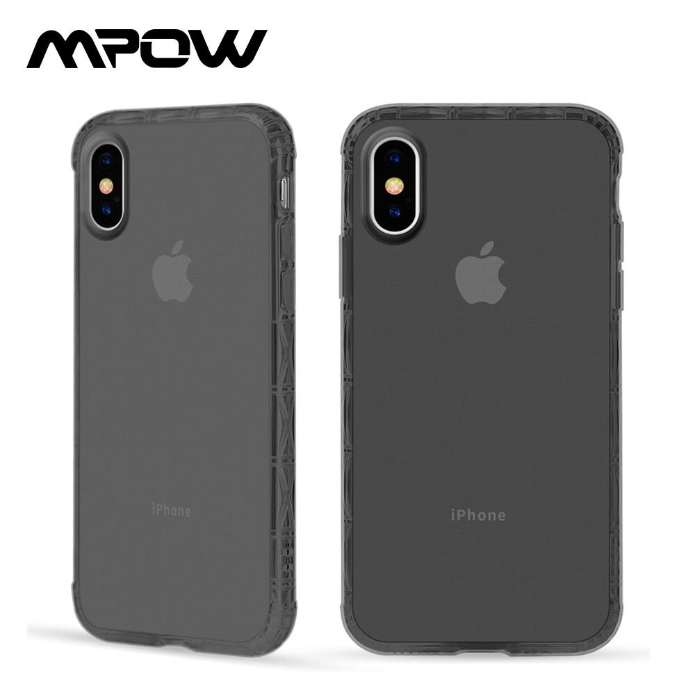 【美國熱銷】MPOW iPhone X/Xs 軍規防摔手機殼-曜石黑