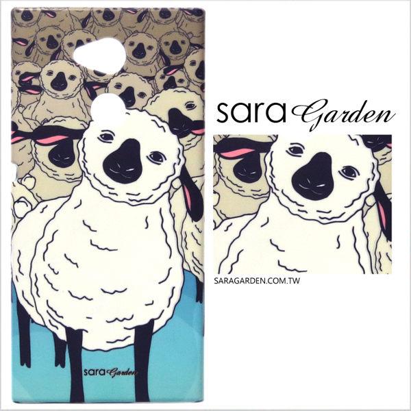 【Sara Garden】客製化 手機殼 蘋果 iphoneX iphone x 保護殼 硬殼 可愛草尼馬