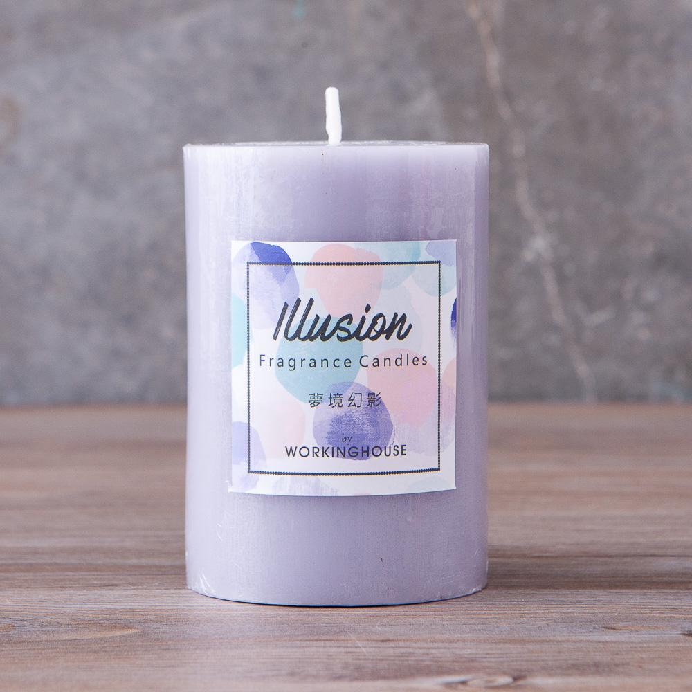 夢境幻影4吋微紫蠟燭-生活工場