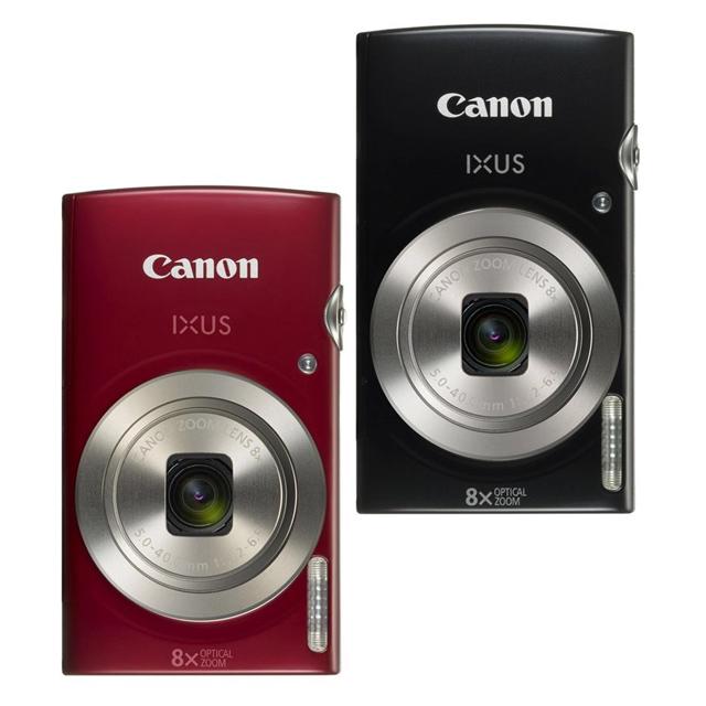CANON IXUS185 -黑色 28mm廣角時尚隨身機 (公司貨)