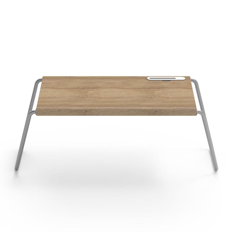 MONITORMATE PlayTable 木質多功能行動桌板 - 原木色