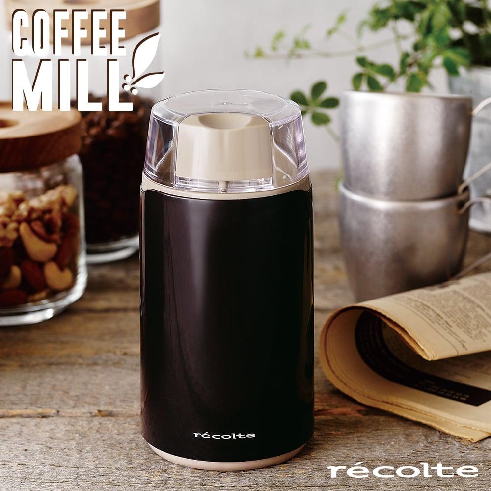 recolte日本麗克特 Coffee Mill 磨豆機-咖啡棕