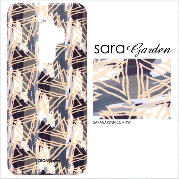 【Sara Garden】客製化 手機殼 Samsung 三星 A8Plus A8+ 2018 保護殼 硬殼 低調刷色線條