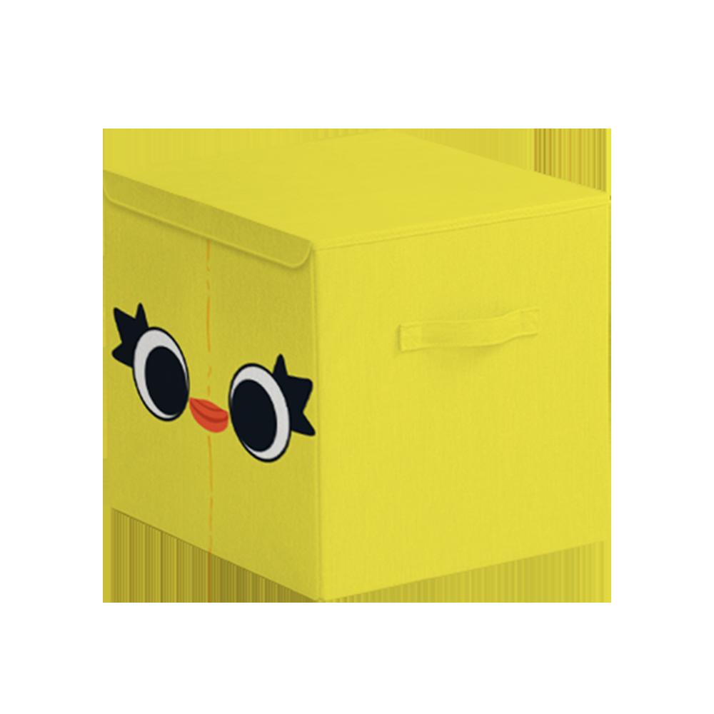 【收納王妃】玩具總動員方形摺疊收納箱-鴨霸