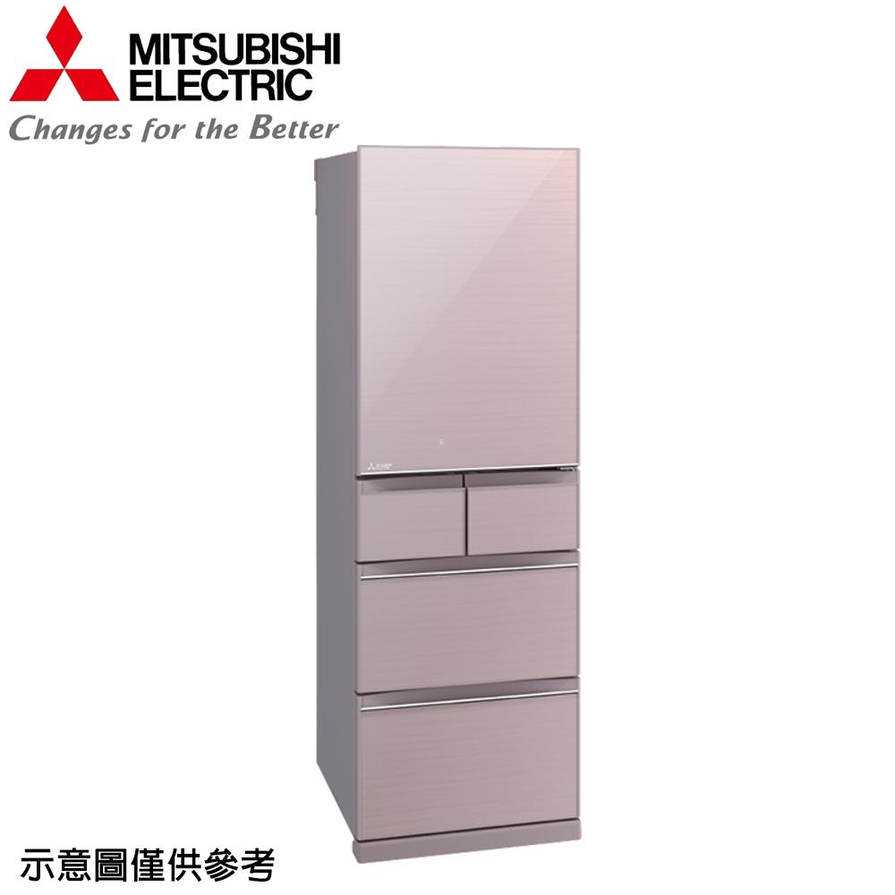 【MITSUBISHI 三菱】455公升日本原裝變頻五門冰箱MR-BC46Z-P