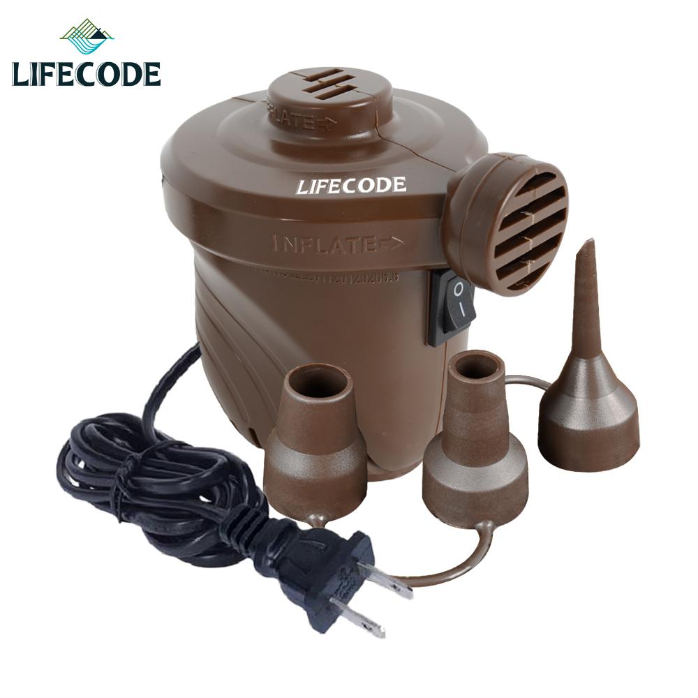 【LIFECODE】110V強力電動充氣幫浦(充洩二用)